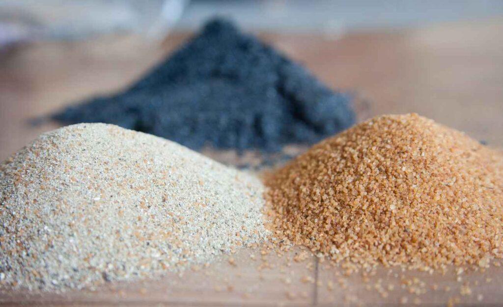 sabbia montagna